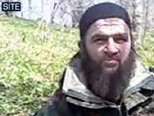 Doku Umarov, the leader of the Islamic Emirate of the Caucasus, who claimed responsibility for the March 29, 2010 metro bombi...