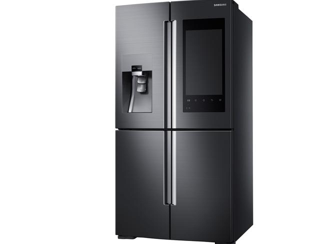 Smart home tech ... Samsung's new fridge is the way of the future.
