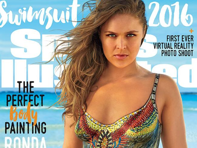 Amor was allowed to ask about Rousey's Sports Illustrated cover.