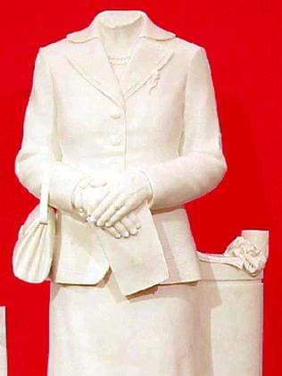 A statue of former British Prime Minister Margaret Thatcher was beheaded. Source: AP