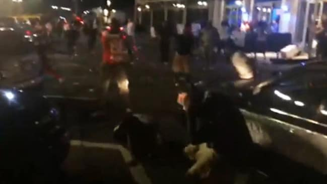 "Chaotic scenes ... the footage has been described as ""a great piece of evidence""."