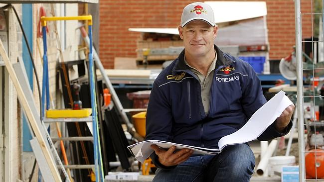 Managing The Block ... is foreman Keith Schleiger. Picture: Supplied