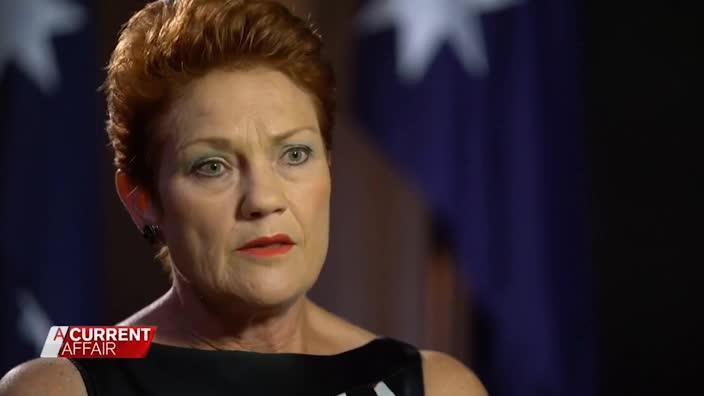 Hanson Attacks Muslims On ACA035