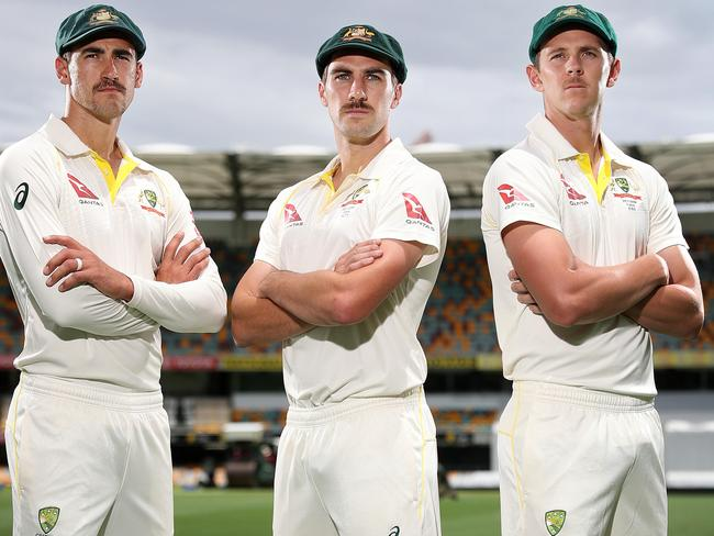 Mitchell Starc, Pat Cummins and Josh Hazlewood get a chance to respond on day two.