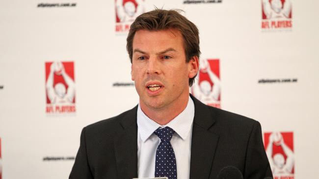 Acting AFLPA chief executive Ian Prendergast.