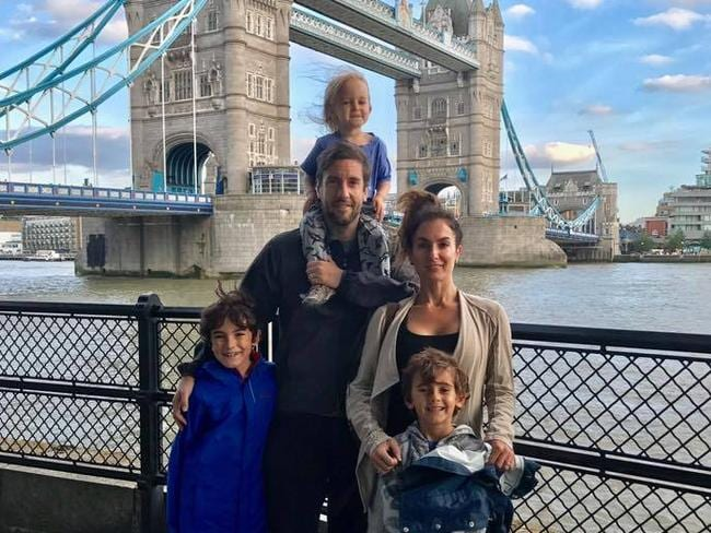 The family had a great European holiday until they started heading home. Image: Clay Travis