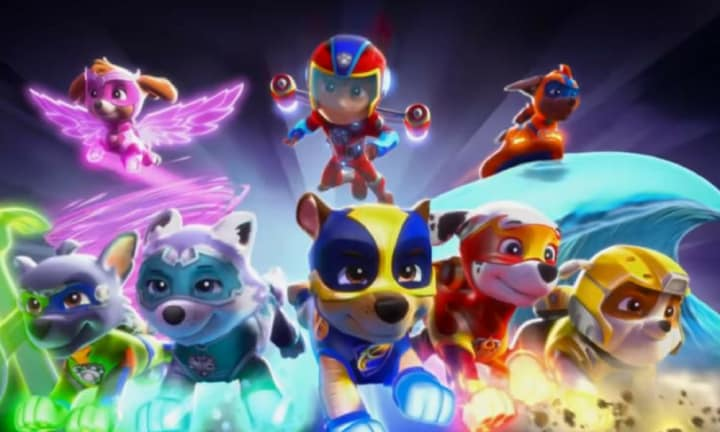 The official trailer for Paw Patrols first big screen movie is here