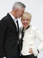 Australian costume and production designer Catherine Martin and Australian director Baz Luhrmann pose upon arrival prior to attend Chanel show as part of Paris Fashion Week - Haute Couture Fall/Winter 2014 in Paris, France. Picture: AFP