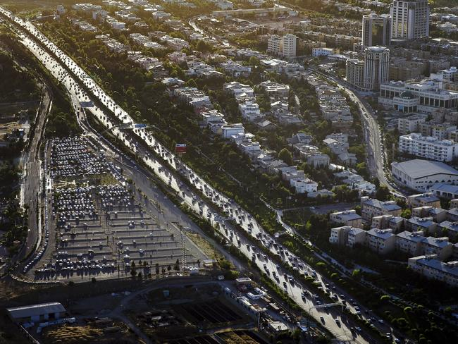 This Friday, May 26, 2017 photo, shows an aerial view of part of the capital Tehran. Picture: AP / Ebrahim Noroozi