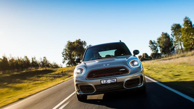 The Countryman isn't as sharp as smaller Minis. Picture: Supplied.