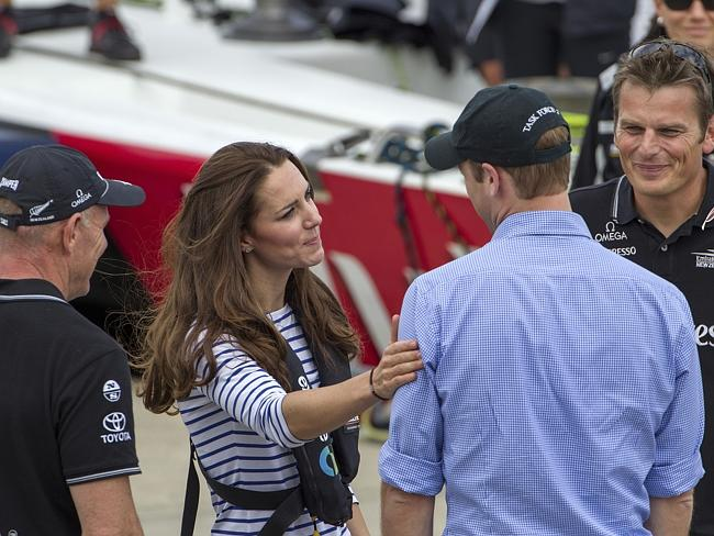 Kate won the yacht race against husband, Prince William. Other things she won that day: T