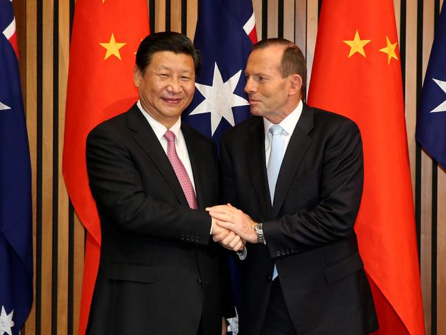 Australia and China signed a landmark free trade agreement in 2014.