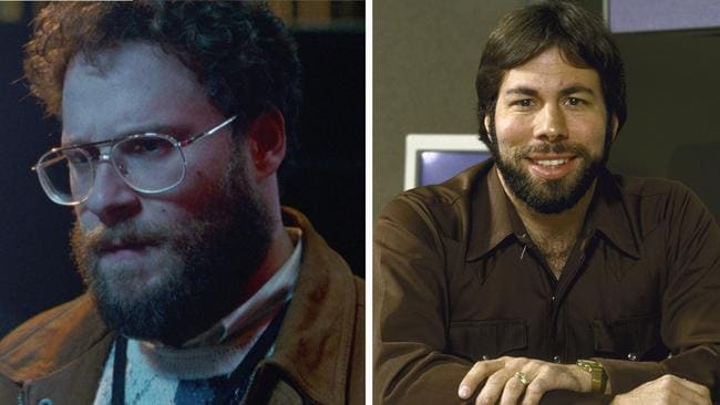 Rogen in Steve Jobs and Steve Wozniak