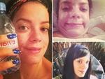 She's happy (and proud!) to go makeup-free: Forget those Instagram duckface dunces, Lily Allen is happy to let her barefaced beauty shine through.The lesson here, for all those makeup-covered beauty queens, is that true beauty has nothing to do with mascara.