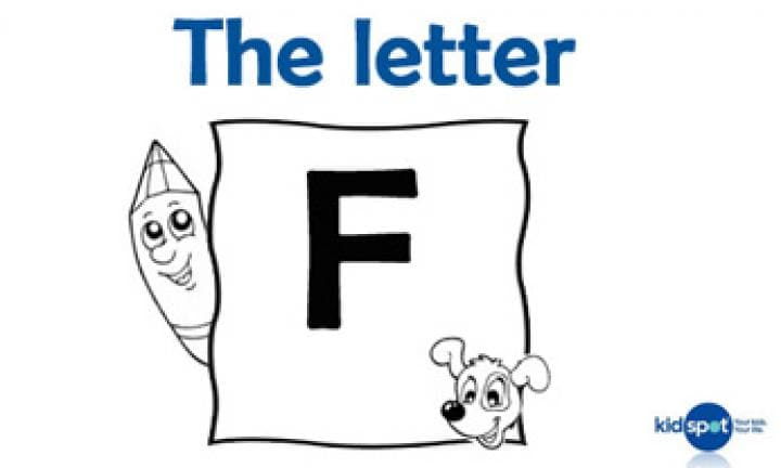 Learning the ABC: The letter F