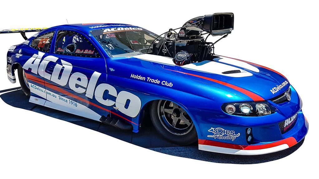 The AC Delco Holden Monaro. Picture: fabiettiracing.com.au