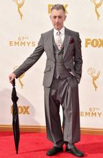 Alan Cumming attends the 67th Annual Primetime Emmy Awards in Los Angeles. Picture: Getty