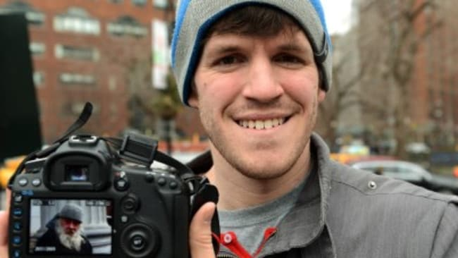 Humans of New York journalist Brandon Stanton.