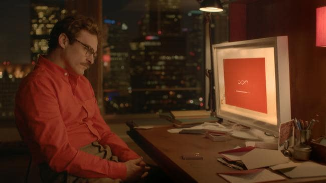 Artificial intelligence in the future could be similar to the film 'Her' where Joaquin Phoenix suspends his disbelief and falls in love with a computer generated personality.