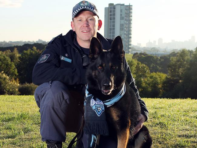 The police officer has been identified as Senior Constable Luke Warburton. Picture: Rohan Kelly