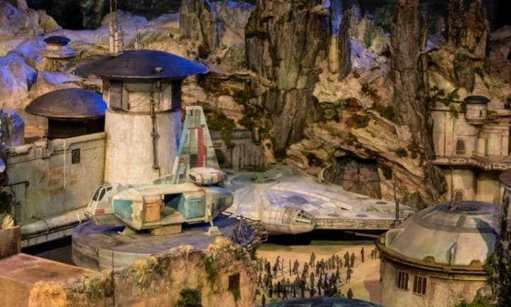First pictures of the new Star Wars theme parks are out of this world
