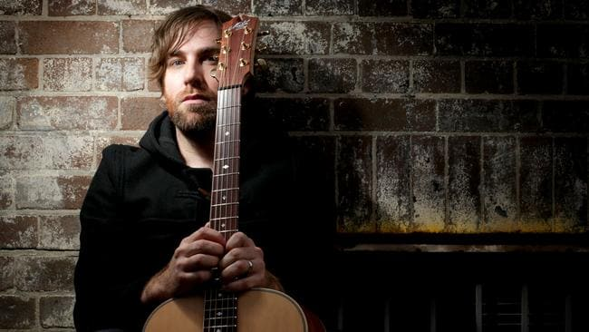 Singer Songwriter ... Josh Pyke applauds his impersonator's attention to detail. Picture: Sam Mooy.