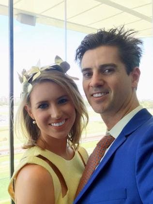Olivia Noakes and fiance Angus Mead