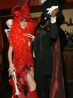 No bones about it ... Heidi Klum and Seal attend her 5th Annual Halloween party at Marquee on October 31, 2004 in New York City. Picture: Getty