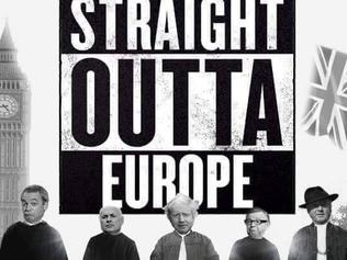 Supplied Editorial straight outta europe