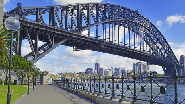 Substantial growth in Sydney's property market has helped lift Australia's world ranking.