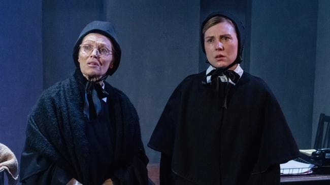 Belinda Giblin leads a fine cast in Doubt: A Parable. Picture: Robert Catto