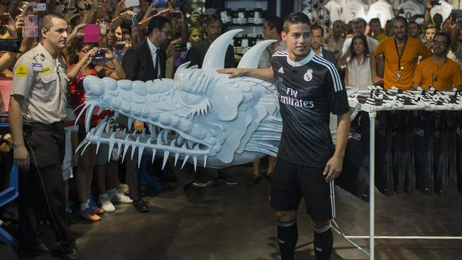 Real's James Rodriguez.