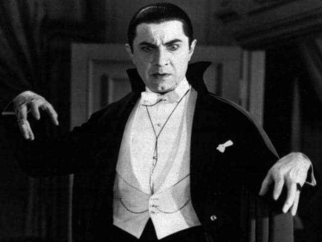 Bela Lugosi portrays Count Dracula in the 1931 film, Dracula. Picture: Universal Pictures