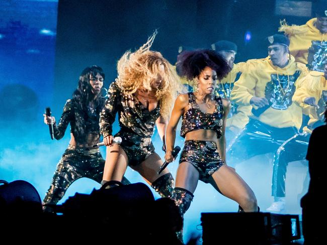 Destiny's Child return to the stage. Picture: AFP