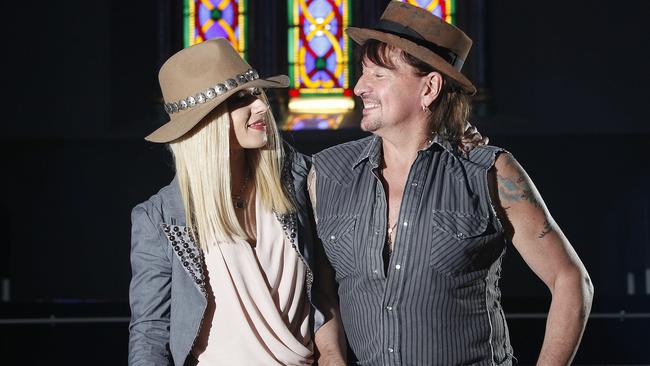 Orianthi and Richie Sambora have dated for more than two years. Picture: Bianca De Marchi.