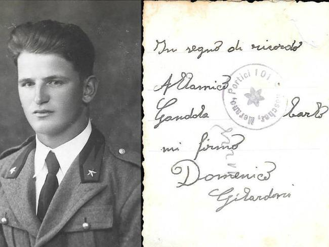 Do you know who this soldier is? Can you read the Italian writing? Photo supplied by Rachel Evans