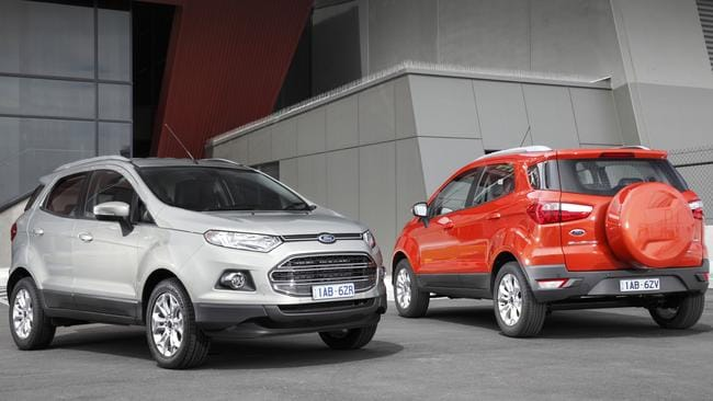 Early versions of the Ford EcoSport had transmission trouble but owners were initially told it was their fault. Picture: Supplied.