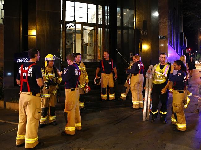 Firefighters outside Rockpool / Picture: Bradley Hunter