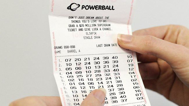 Powerball dates in Perth