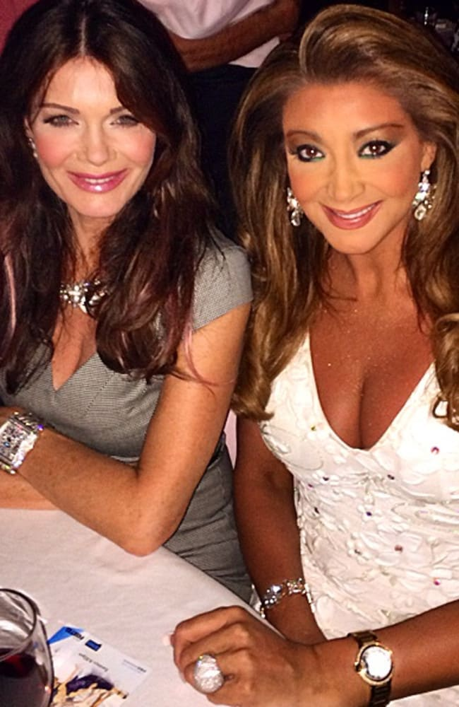 Lisa Vanderpump and Gina Liano in Los Angeles