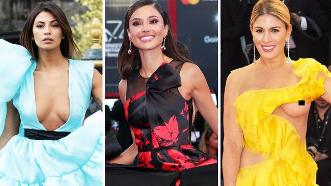 venice film festival 2017 most revealing red carpet fashion