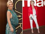 Looking trim and terrific, Elsa Pataky signs copies of 'Intensidad Max' at Book Fair on June 6, 2014 in Madrid, Spain. Chris Hemsworth's wife gave birth to twin sons Tristan and Sasha in March. Picture: Getty/Splash