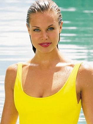 Brooke Burns as Jessie Owens in Baywatch. Picture: Getty