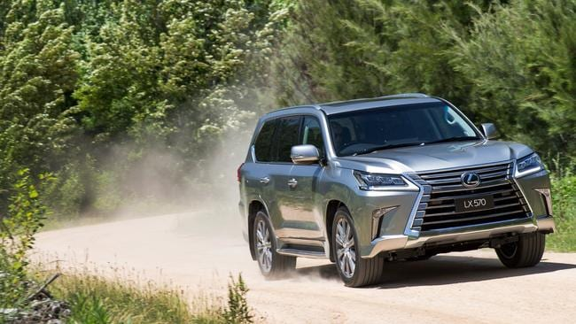 Lexus LX owners will soon be able to get further off the beaten track with the driving range of a diesel, which slashes fuel consumption by one-third. Picture: Supplied.