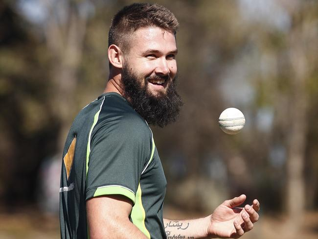 Kane Richardson was selected on his bearded form, but inexplicably shaved it off before playing against Zimbabwe.