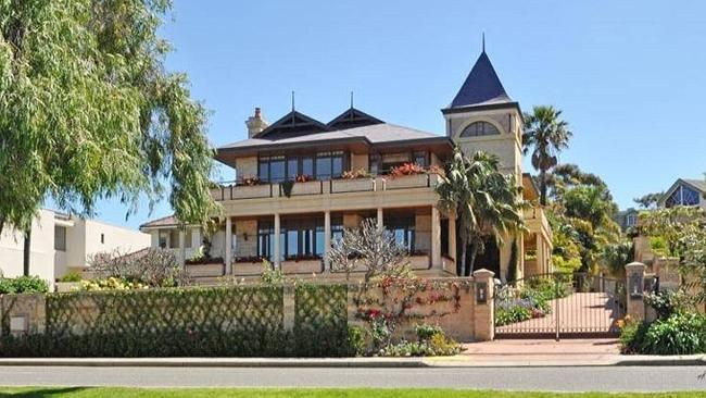 THE top individual house sale in Perth last year was in The Esplanade, Peppermint Grove. Picture: RP Data