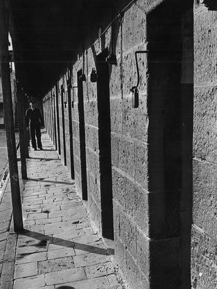 The prison's C Division in 1964.
