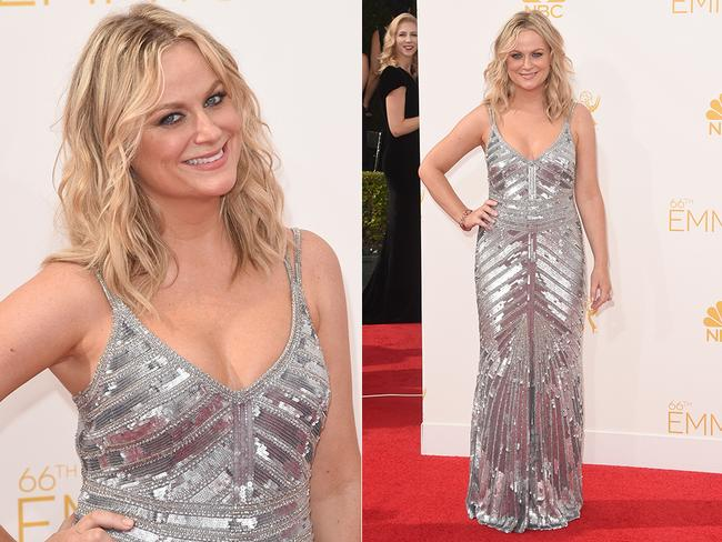 Amy Poehler attends the 66th Annual Primetime Emmy Awards. Picture: AFP