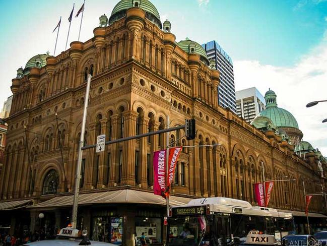 The QVB is a tourist hub.