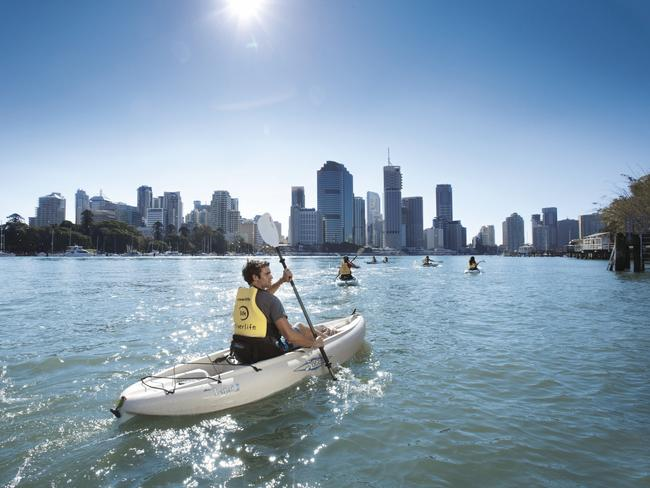 how to get to moreton island from brisbane city
